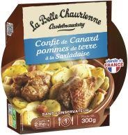 Confit de Canard, Pommes de terre à la sarladaise