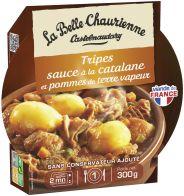 Tripes sauce à la catalane et pommes de terre vapeur