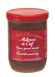 Mitonné de cerf sauce grand veneur