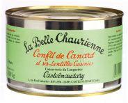 Confit de Canard et ses Lentilles Cuisinées