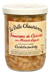 Saucisses de Canard aux Haricots Lingots
