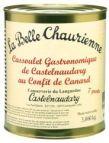 La belle Chaurienne : Cassoulet gastronomique de Castelnaudary au confit de canard