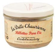 Pure goose rillettes (potted goose)