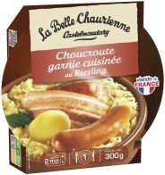 Sauerkraut cooked in Riesling